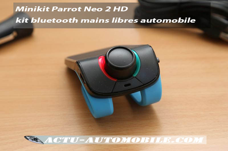 t l phoner l galement en voiture minikit parrot neo 2 hd. Black Bedroom Furniture Sets. Home Design Ideas