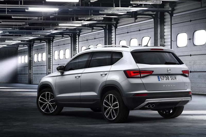 seat ateca le tiguan espagnol actu automobile. Black Bedroom Furniture Sets. Home Design Ideas