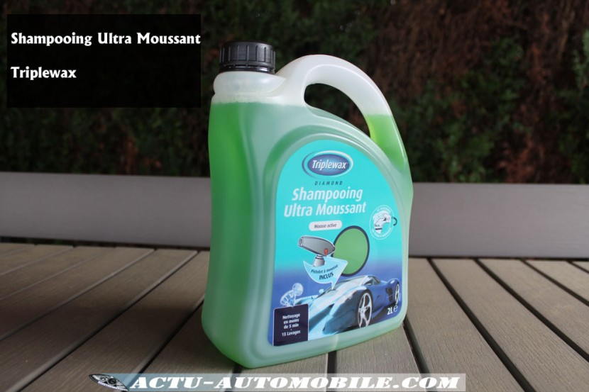 Shampooing Ultra Moussant Triplewax