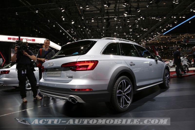 Nouvelle Audi A4 Allroad
