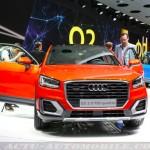 Audi Q2 : première mondiale à Genève !