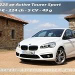 Essai BMW Série 2 Active Tourer 225 xe : hybride rechargeable familial