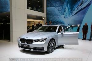 Le stand BMW au salon de Genève 2016