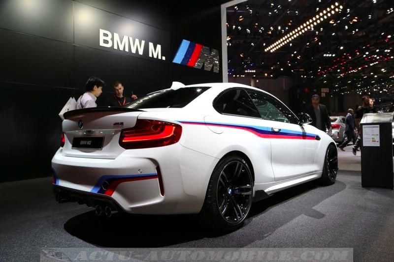 La BMW M2 à Genève