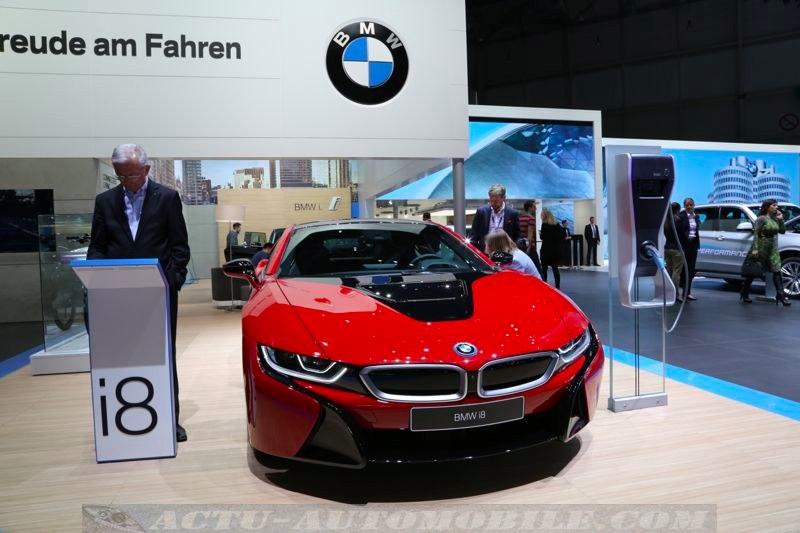 La BMW i8 à Genève
