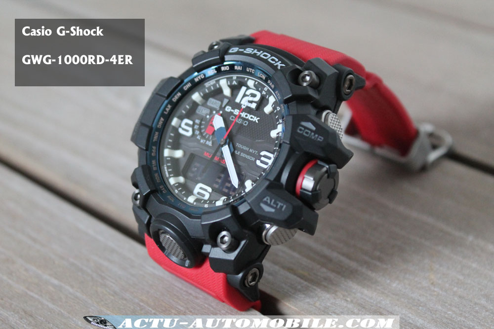 Casio G Shock Gwg 1000rd 4er Actu Automobile