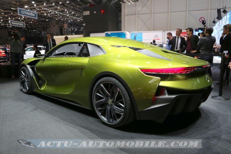 Concept car DS E-Tense