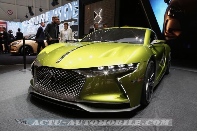 Gen 232 Ve 2016 Concept Car Ds E Tense Actu Automobile