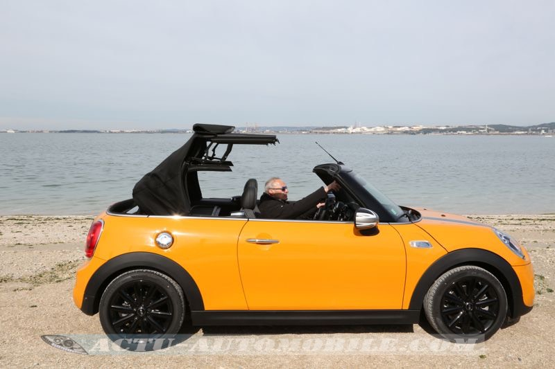 Décapotage de la Mini Cabrio