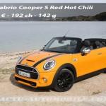 Essai nouvelle Mini Cabrio Cooper S : sportive de plein air