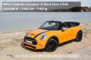 Essai nouvelle Mini Cabrio Cooper S