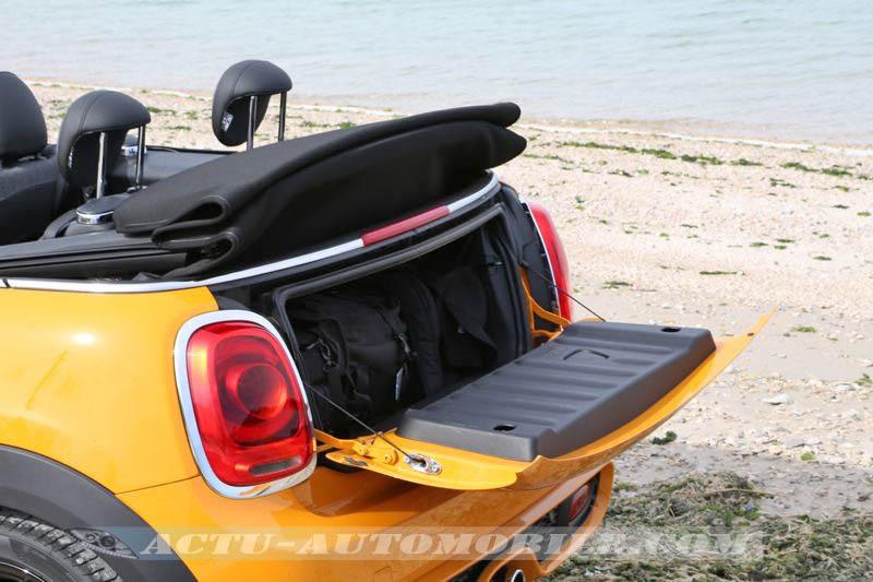 Coffre de la Mini Cabrio