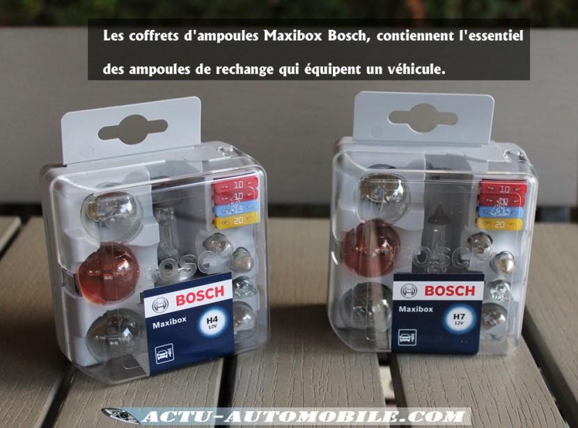 Coffre Ampoule Maxibox Bosch