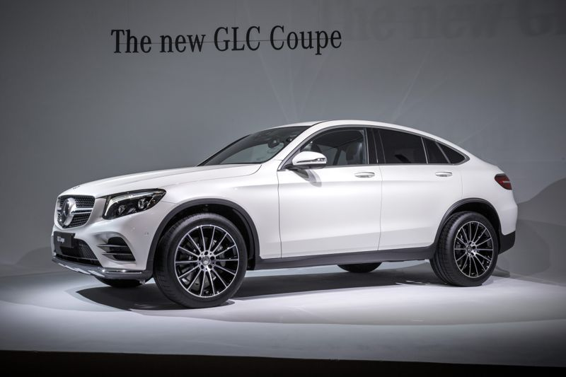 mercedes glc coup le rival du bmw x4 actu automobile. Black Bedroom Furniture Sets. Home Design Ideas