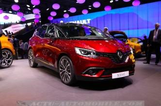 Le nouveau Renault Scénic à Genève
