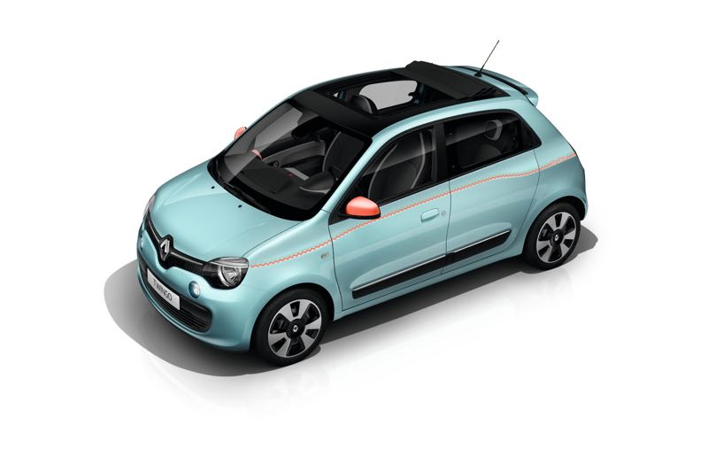 s rie limit e renault twingo hipanema actu automobile. Black Bedroom Furniture Sets. Home Design Ideas