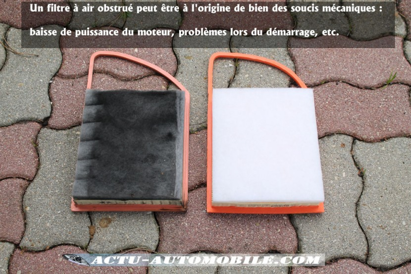 Filtre à air uagé vs filtre à air neu