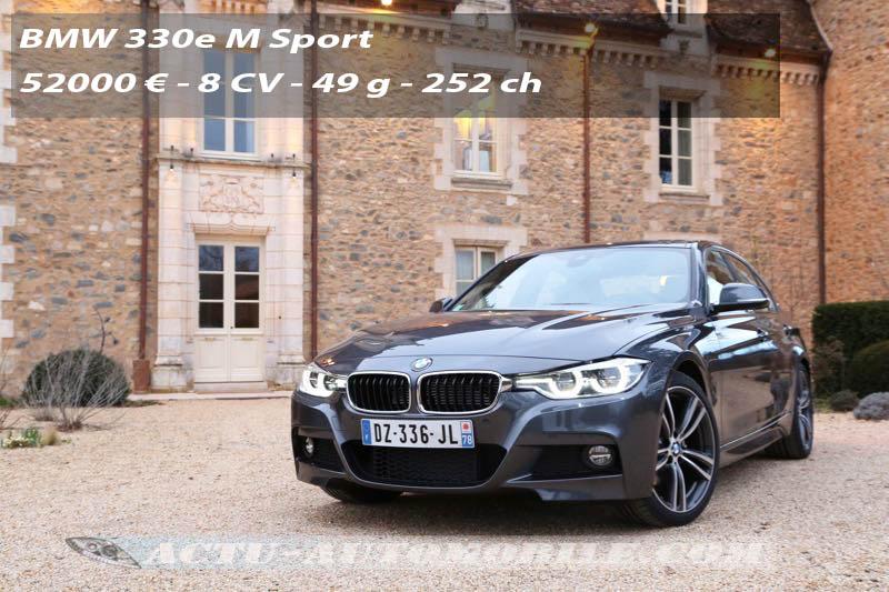 Essai BMW 330e