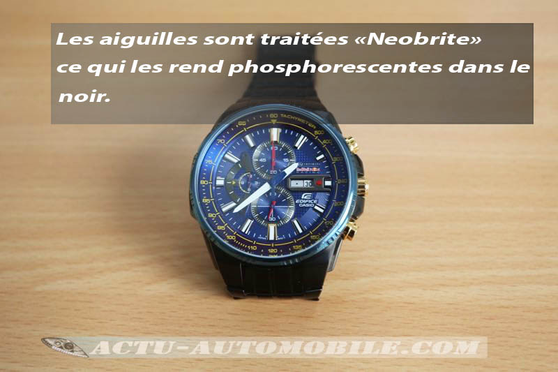 Montre Casio Edifice Infiniti Red Bull Racing
