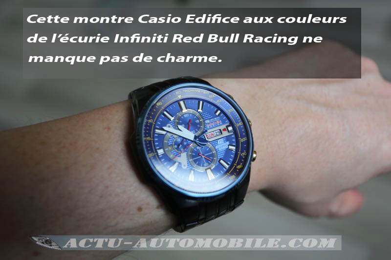 Montre Casio Edifice Infiniti Red Bull Racing