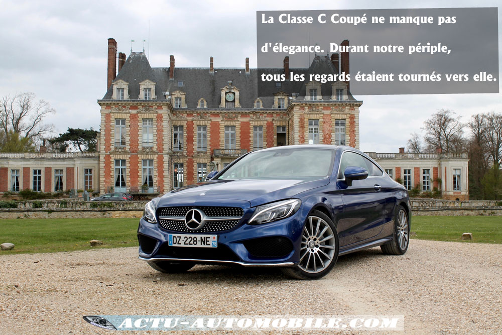 essai nouvelle mercedes classe c coup 250d sportline actu automobile. Black Bedroom Furniture Sets. Home Design Ideas