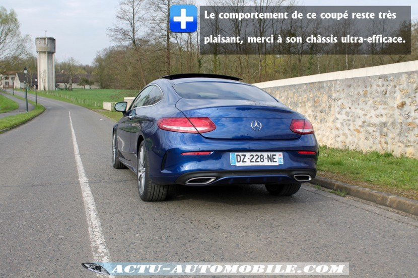 Comportement routier Mercedes Classe C Coupé
