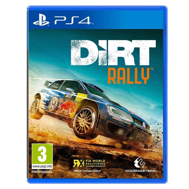 Dirt Rallye sur PS4