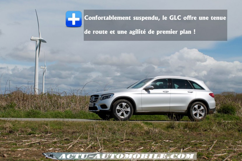 Tenue de route Mercedes GLC