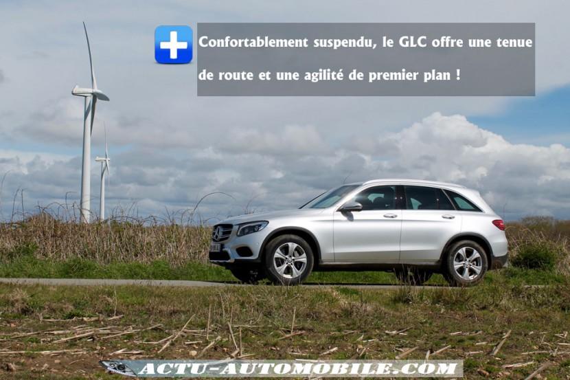 Tenue de route Mercedes GLC
