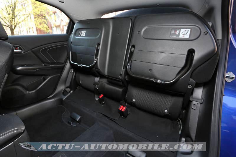 Sièges arrière magiques de la Honda Civic