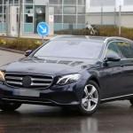 Nouvelle Mercedes Classe E Break : soute XXL