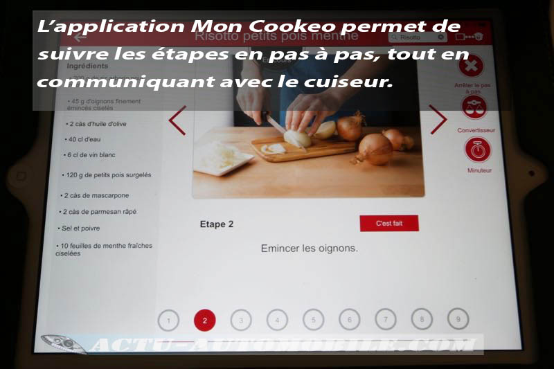 Test Moulinex Cookeo Connect