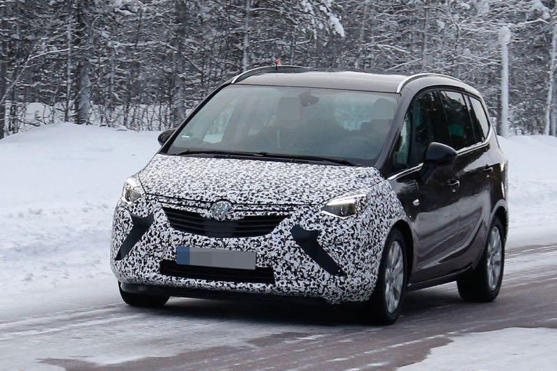 Opel Zafira restylé