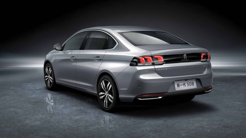 La Peugeot 308 déjà restylée en Chine
