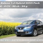 Essai Suzuki Baleno 1.2 Hybrid SHVS : sobre et bon marché
