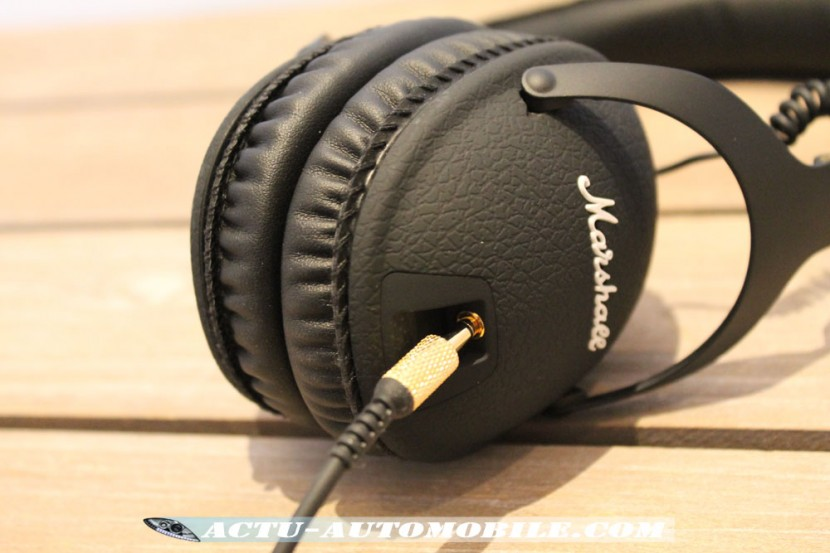 Connexion Casque Marshall Monitor