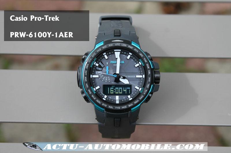 Casio Pro Trek PRW 6100Y 1AER  6gTeH