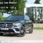 Essai Mercedes Classe GLC 250 essence 4MATIC Sportline