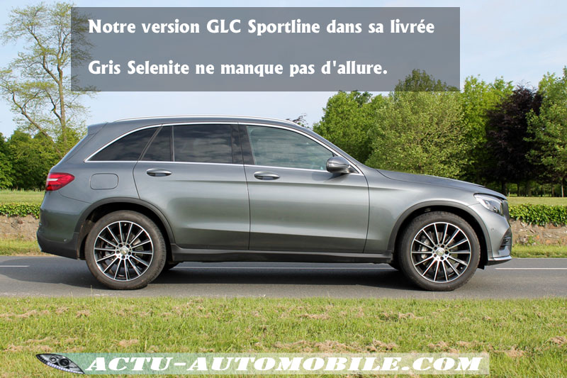 Mercedes GLC Gris Sélénite