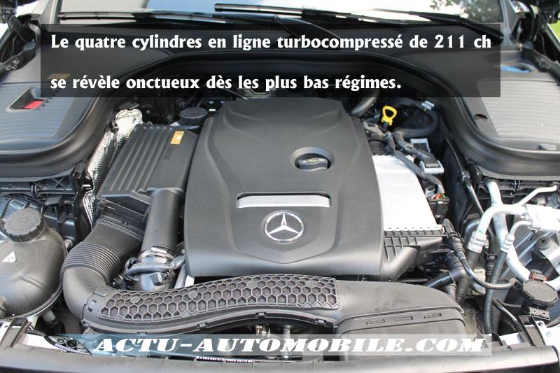 Motorisation Mercedes GLC 250