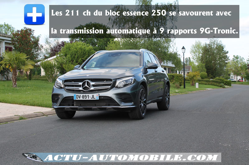 Performances Mercedes GLC 250 4Matic