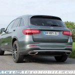 Essai Mercedes GLC 250 4MATIC Sportline : conclusion, photos