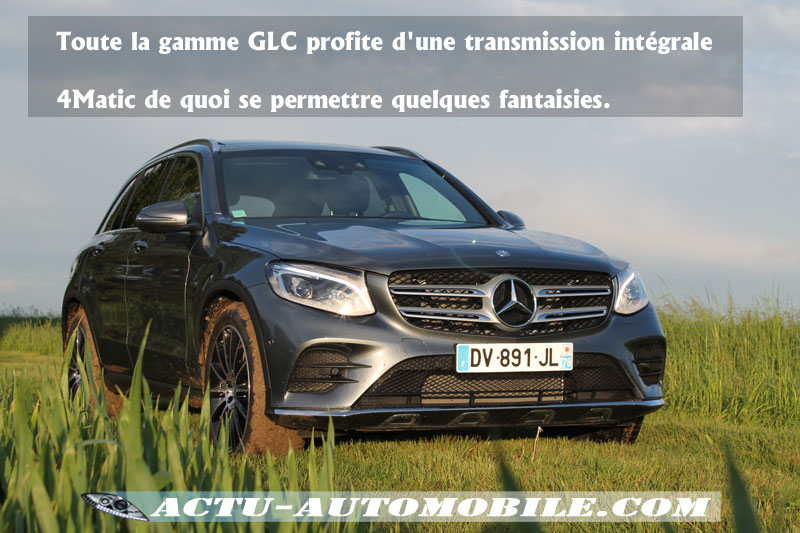 Mercedes GLC Off-road