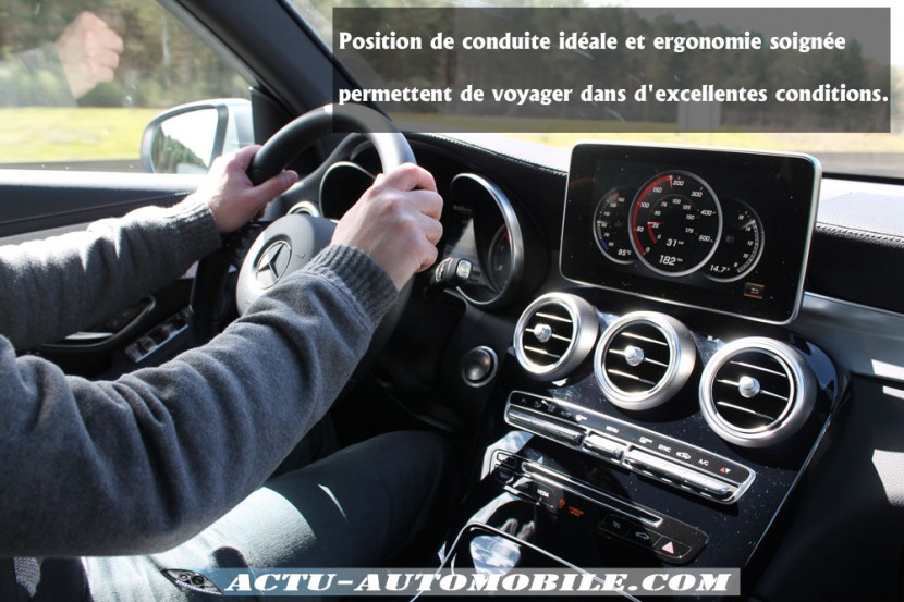 Poste de conduite Mercedes GLC