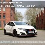 Essai Honda Civic Type R : une 9ème génération qui compte