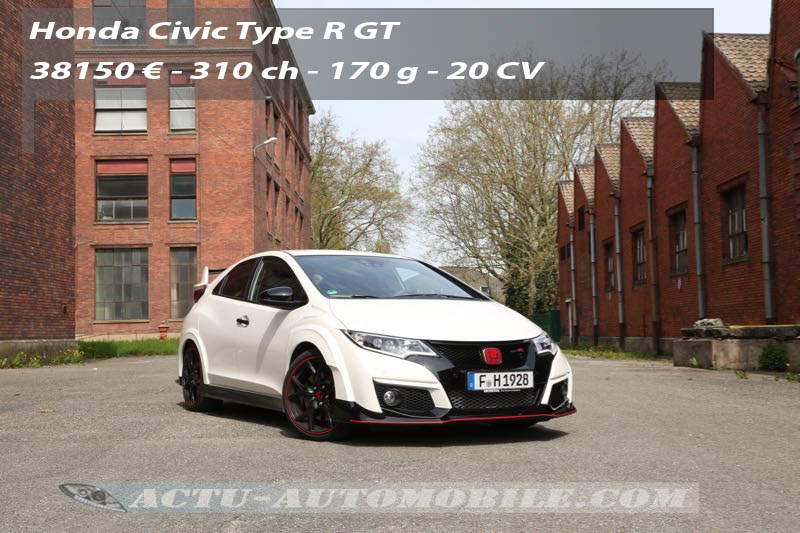 essai honda civic type r une 9 me g n ration qui compte actu automobile. Black Bedroom Furniture Sets. Home Design Ideas