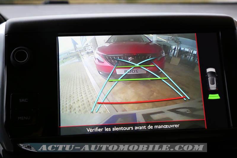 Caméra de recul du Peugeot 2008