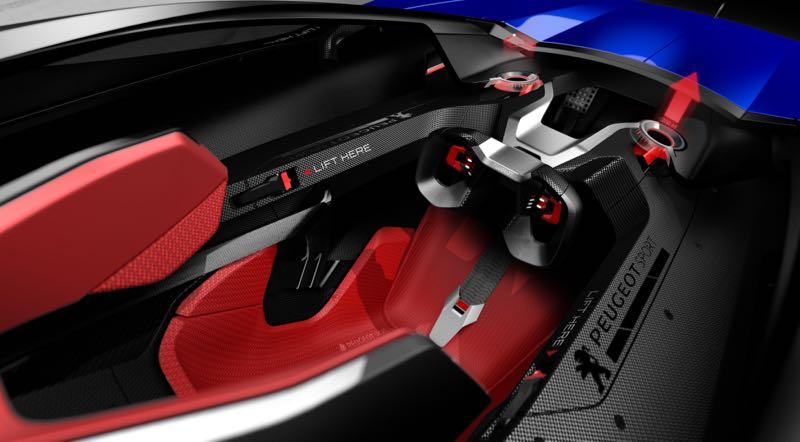 L500 R HYbrid : le sport by Peugeot