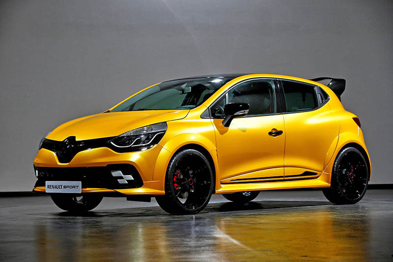 une renault clio r s in dite pour le gp de monaco actu automobile. Black Bedroom Furniture Sets. Home Design Ideas