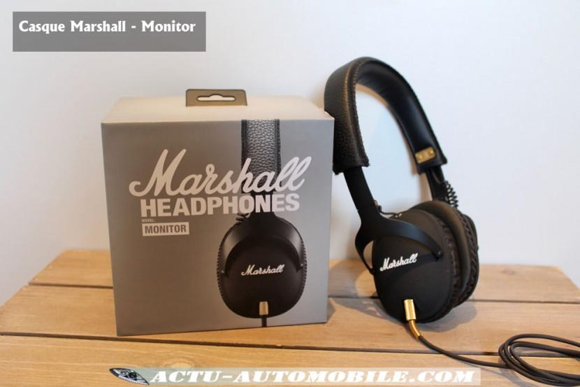 Casque Marshall Monitor